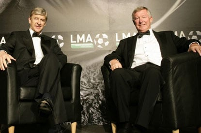 Alex Ferguson and Arsene Wenger