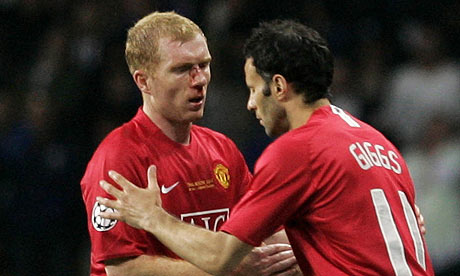Pauls Scholes and Ryan Giggs