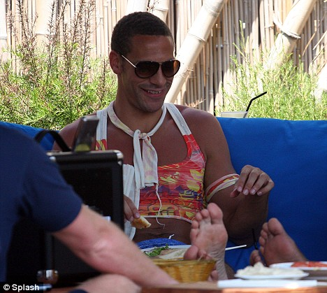 Rio Ferdinand in Hot Pants 2