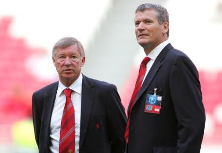 Alex Ferguson and David Gill