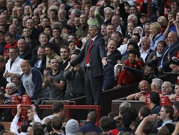 Arsène loses plot as United win