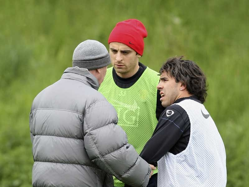 "Sir Alex breaking the news to Carlos: ""The difference between you two is that you make this look good Berba."""