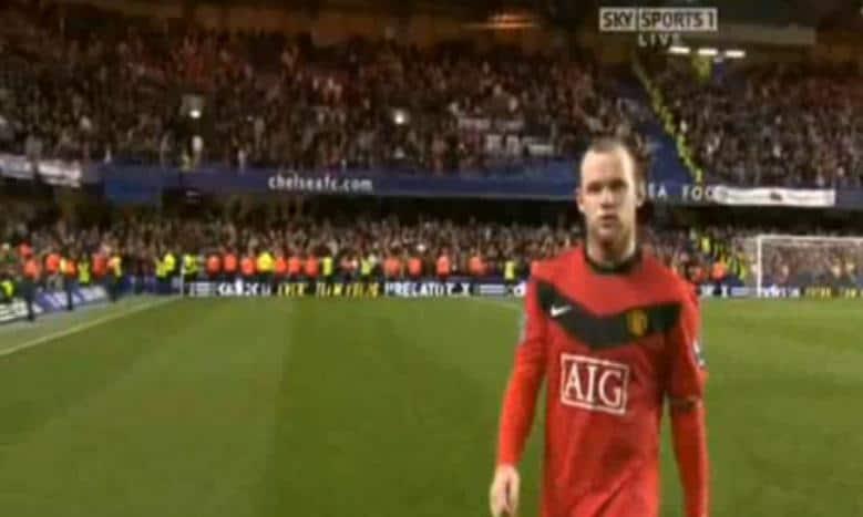"Rooney warned over ""12 men"" comment"