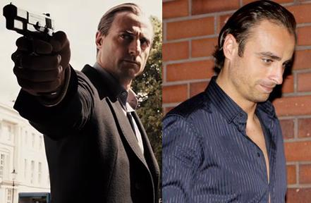 Left: Hitmanovski angry, Right: Berbatov relaxed