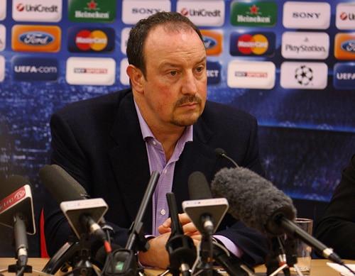 Under pressure: Rafael Benitez