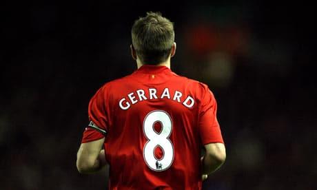 Injured: Steven Gerrard