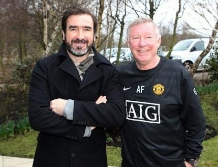 Eric Cantona Sir Alex Ferguson