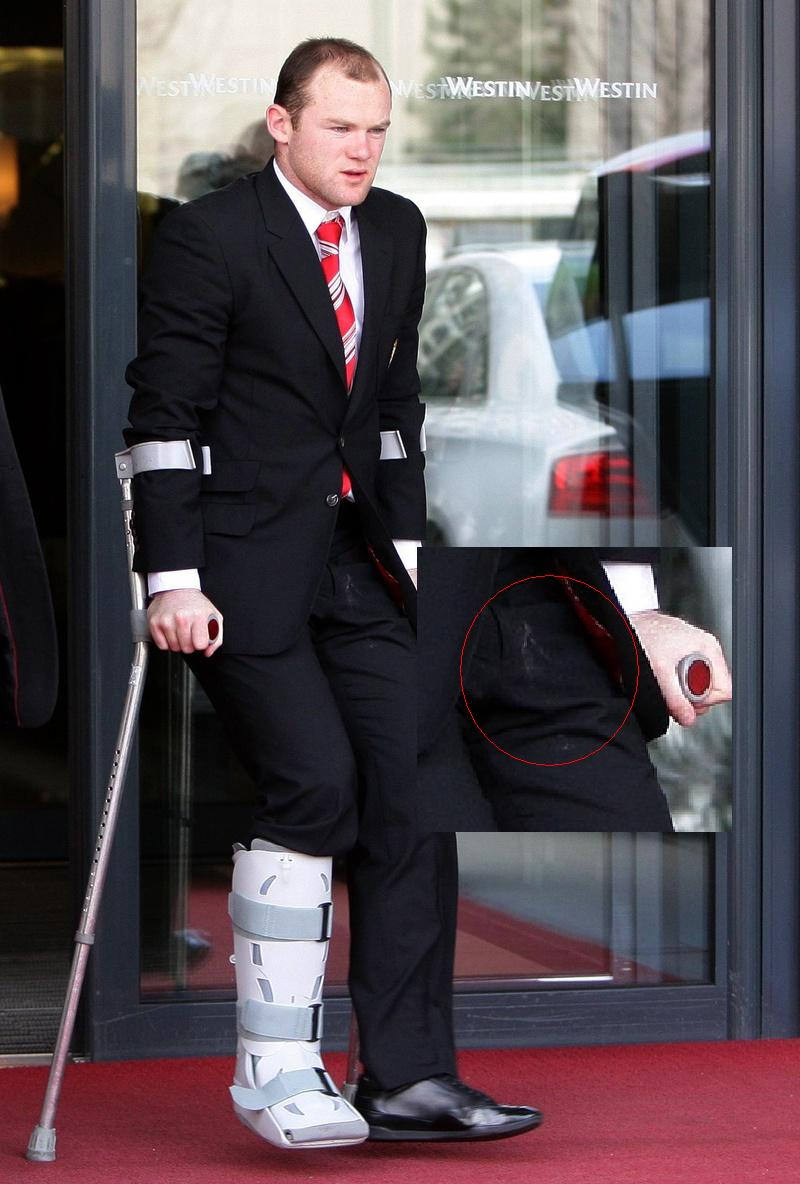 Wayne Rooney In A Suit