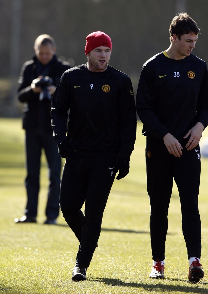Wayne Rooney Training