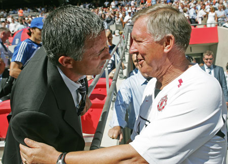 Alex Ferguson Jose Mourinho