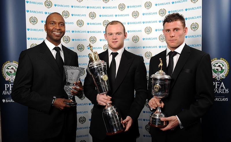 Gallery: Rooney wins player of the year award