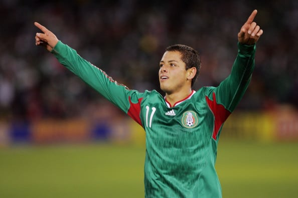 First look at Chicharito