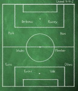 Chalkboard v Everton