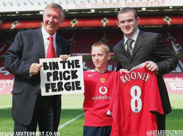 A child's plea over Rooney