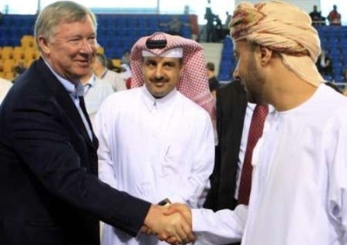 Sir Alex Ferguson Qatar
