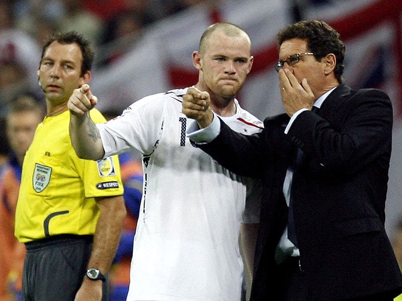 Wayne Rooney, Fabio Capello