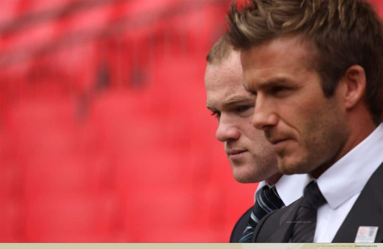 Wayne Rooney, David Beckham