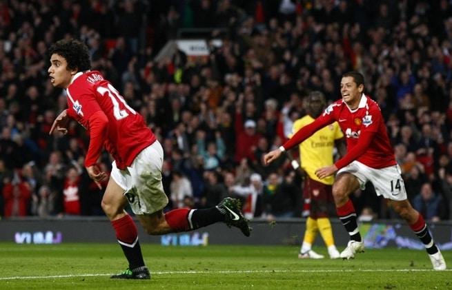 Fabio da Silva, Manchester United