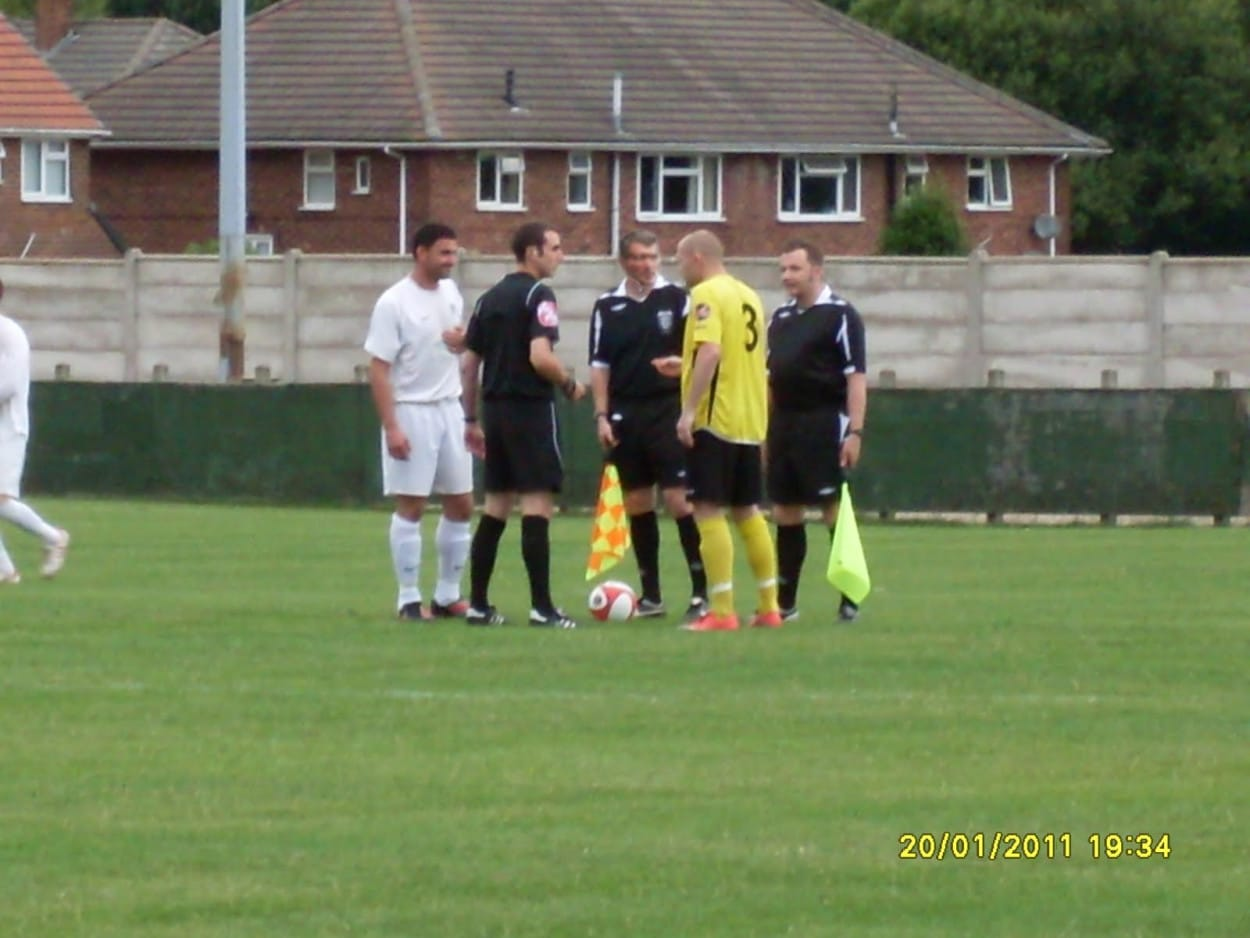 Roy Keane Suffolk and County League referee