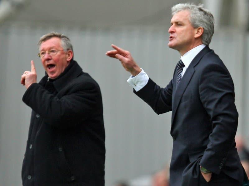 Mark Hughes, Sir Alex Ferguson