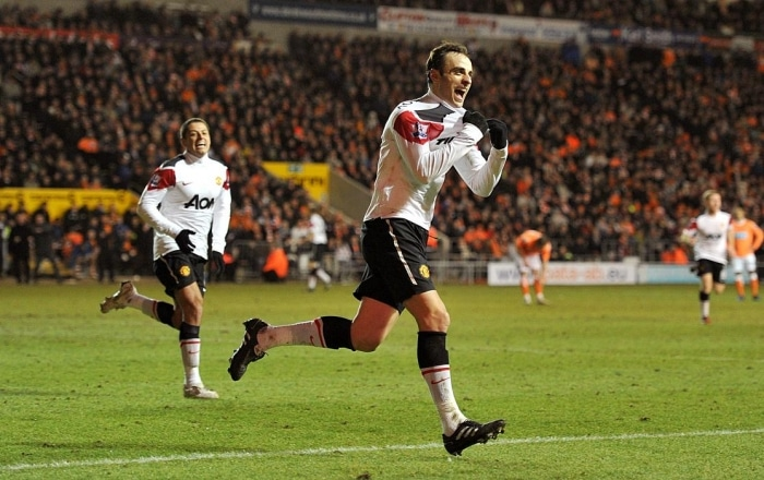 Dimitar Berbatov, Blackpool v United