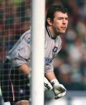 Andy Goram 2001  Schizophrenic pie-eating Scotsman Goram inspired one of the finest terrace chant ever, arriving on an emergency loan in 2001, playing just two games for United.