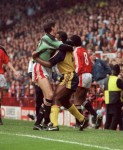 Les Sealey 1990–1991, 1993–1994  Sealey came to prominence during the 1990 FA Cup Final replay, going on to 'keep for the club during United's successful Cup Winners' Cup campaign the following season. Returned as an understudy to Schmeichel in 1993. Died in 2001