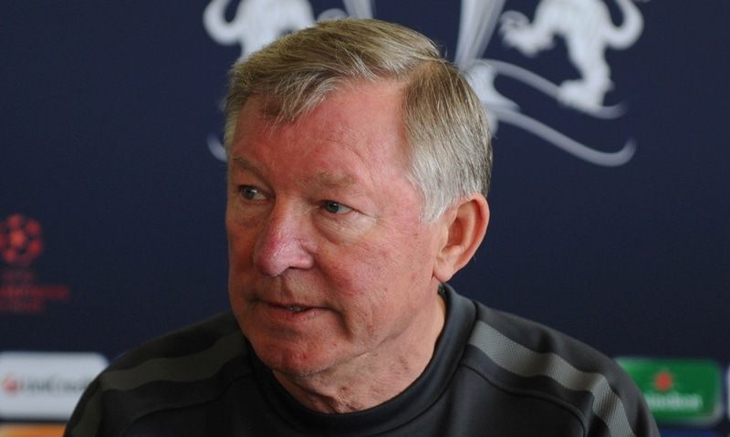 Sir Alex Ferguson in Boston