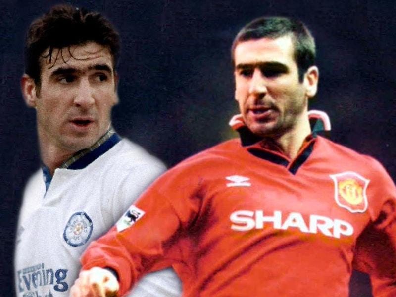 Eric Cantona Leeds United Manchester United