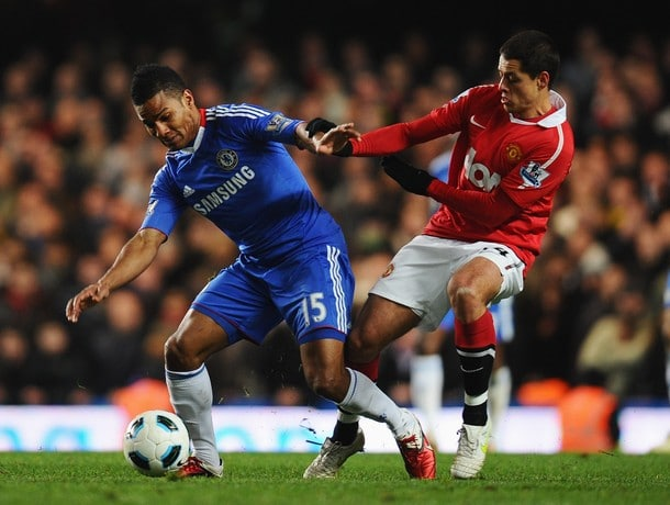 Manchester United v Chelsea, Premier League, Old Trafford, Sunday 16 September 2011
