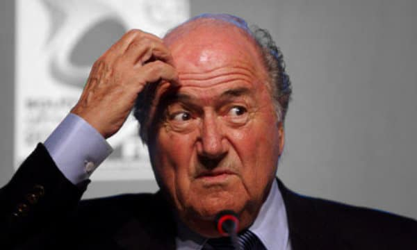 Sepp Blatter, FIFA a senile deluded old fool