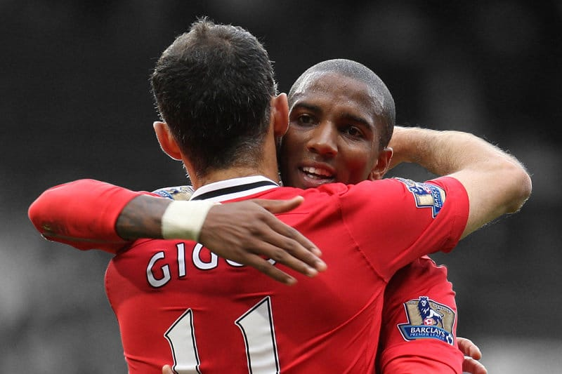 Ashley Young, Ryan Giggs