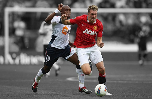 Phil Jones, Bolton v United