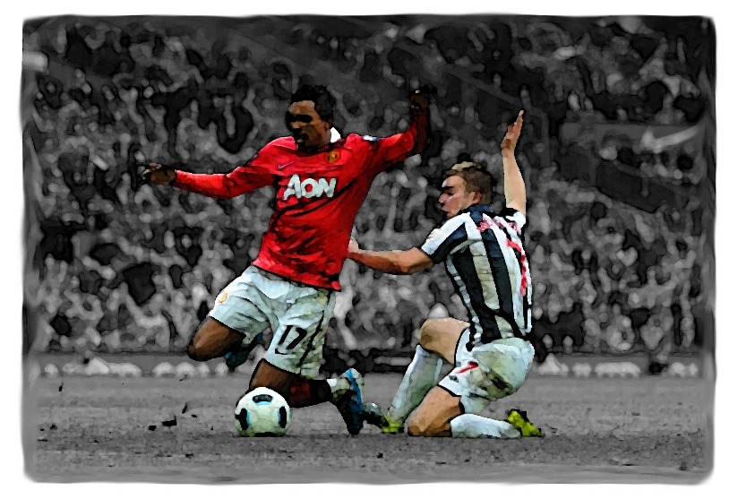 Manchester United versus West Bromwich Albion