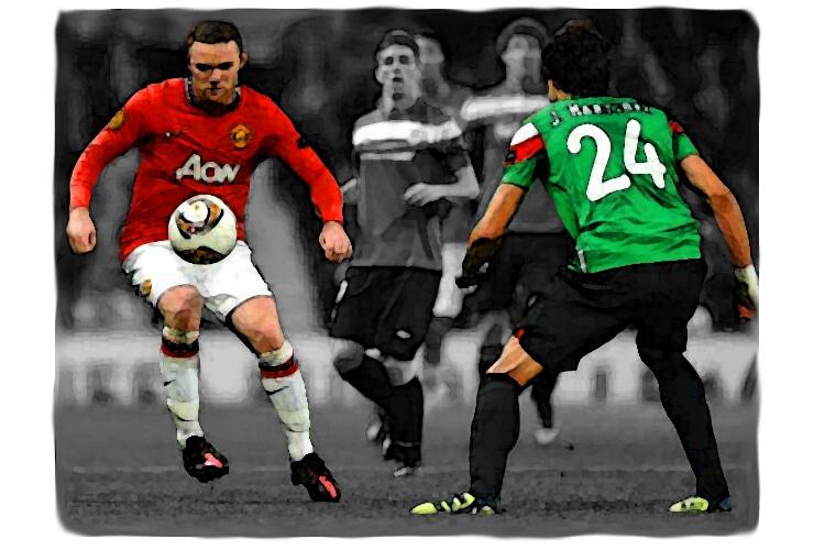 Wayne Rooney, Javi Martinez