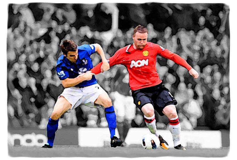 Wayne Rooney v Everton