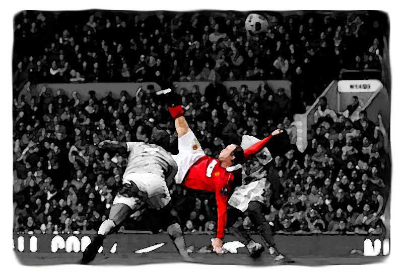 Wayne Rooney Overhead