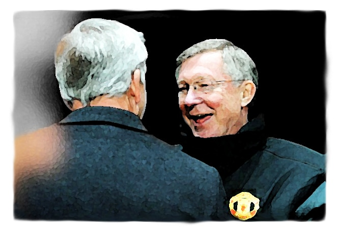 Sir Alex Ferguson, Alan Pardew