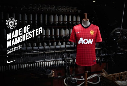 MUFC home shirt
