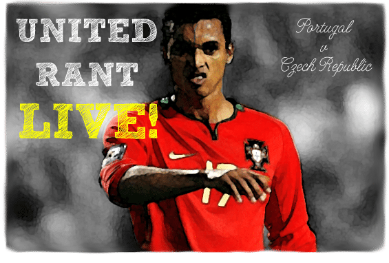 Nani, Portugal v Czech Republic