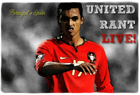 United Rant Live! Portugal v Spain