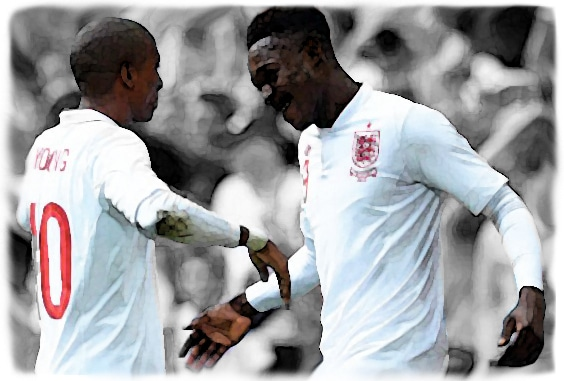 Danny Welbeck, Ashley Young