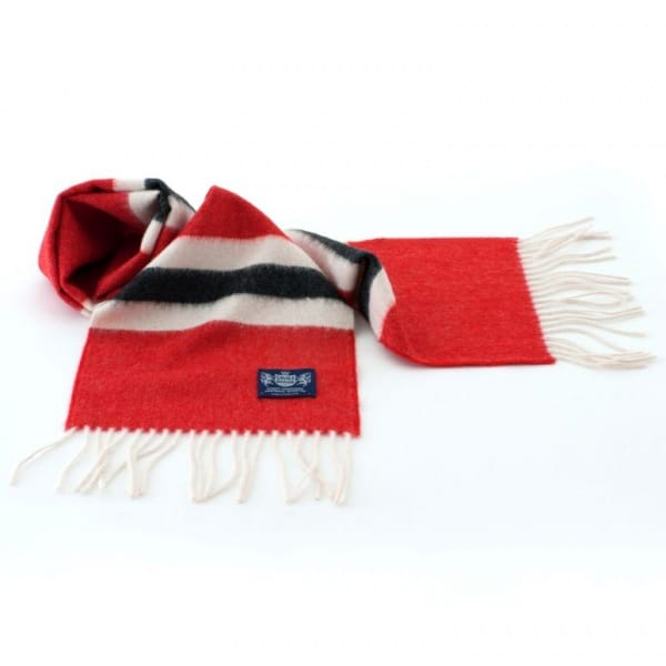 Savile Rogue Manchester United cashmere football scarf