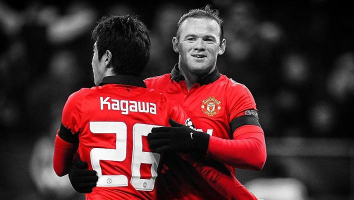 Shinji Kagawa, Wayne Rooney