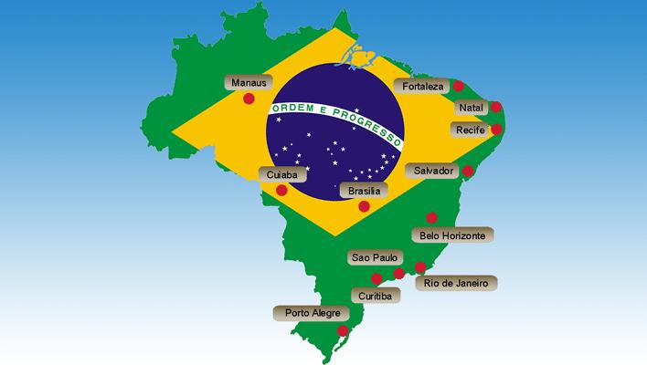 Map of Venues