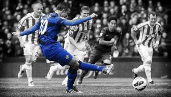 Robin van Persie v Stoke City