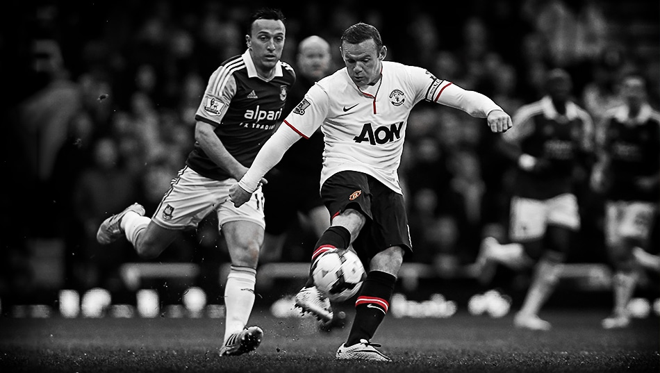 Wayne Rooney, West Ham goal