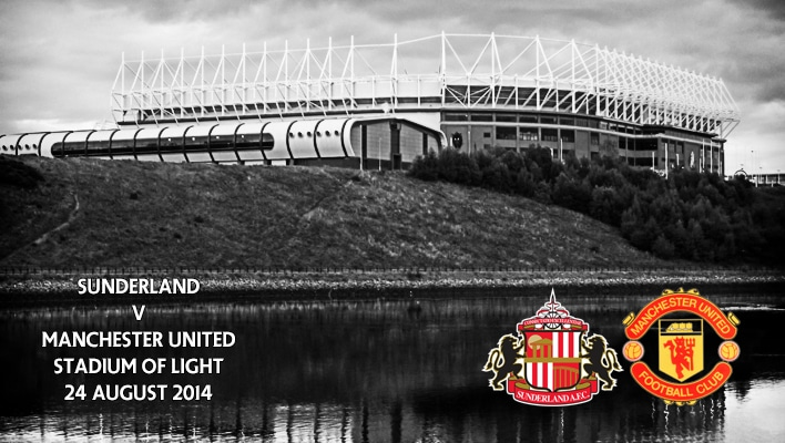 Sunderland v Manchester United, Stadium of Light, 24 August 2014