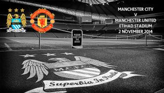 Manchester City v Manchester United, Etihad, 2 November 2014