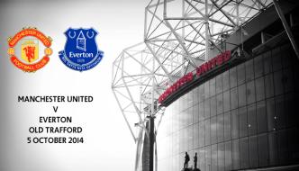 Manchester United v Everton, Old Trafford, 5 October 2014